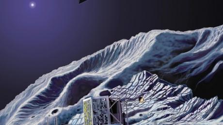 Европейское космическое агентство опубликовало уникальные кадры с поврехности кометы Чурюмова-Герасименко
