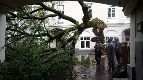 Природный апокалипсис накрыл Москву с новой силой: счет тяжелораненых идет на десятки, ураган крушит все вокруг - кадры