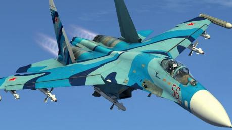Россия за один день потеряла два военных самолета: вслед за L-39 возле Крыма рухнул истребитель Су-27, детали