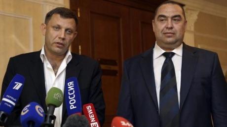 СМИ: Захарченко и Плотницкий прибыли в Минск
