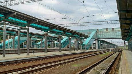 новости, Донецк, ДНР, поезда, запуск, ж/д вокзал, соцсети