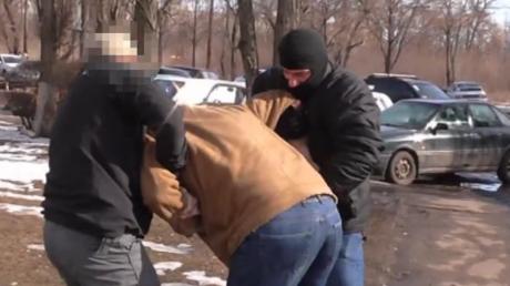 Как СБУ в Харькове задерживала диверсанта