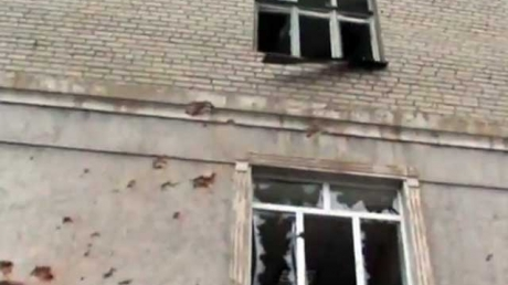 В Донецке снаряд попал в больницу №20. Погиб один человек, 7 ранены