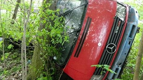 Микроавтобус с детьми сорвался в пропасть в Тернопольской области. Выпавшие из окон пассажиры погибли