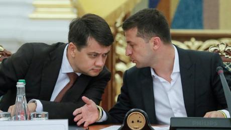 Зеленский, Разумков, Конфликт, Рада, Споры.
