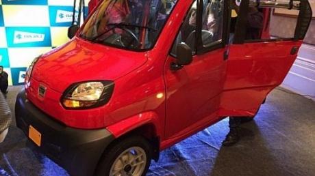 В Украине хотят продавать самый бюджетный автомобиль в мире. Цена этой малютки на нашем рынке может составить менее 4 тысяч долларов – кадры