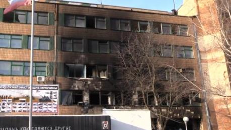 """Террористы """"Сомали"""" экстренно восстанавливают взорванный кабинет Гиви – важные улики окончательно уничтожены"""