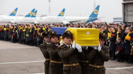 украина, борисполь, киев, boeing, PS752, иран, прощание