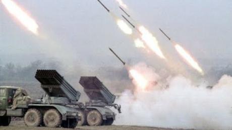 Гибридная армия России испепеляет Троицкое и Крымское массированным огнем из 120-мм минометов и гранатометов