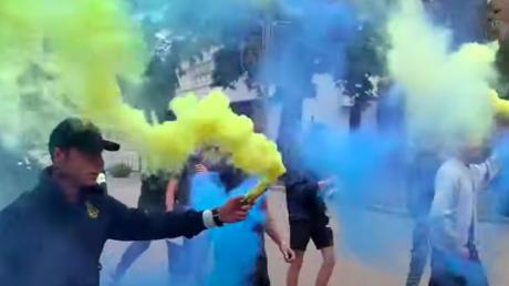 В Днепре Нацкорпус сорвал митинг экс-регионалки Шиловой, ездившей в Донецк к Захарченко