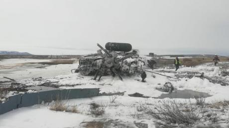 новости, Россия, военные, армия, вертолет, Ми-8, катастрофа, Чукотка, гибель