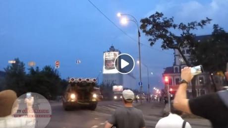 украина, киев, парад, репетиция, всу, бук, дтп, скандалв