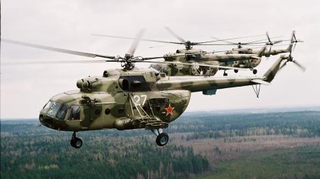 На админгранице с Крымом были зафиксированы вертолеты и самолет РФ