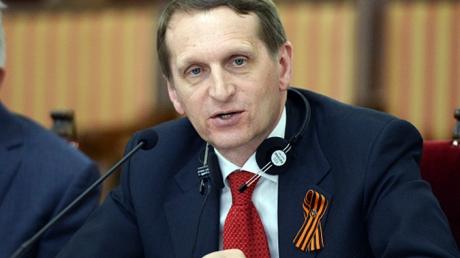Нарышкин назвал украинцев деградирующей нацией, которая угрожает всей Европе