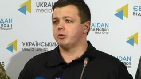 """Семенченко: единый штаб не будет конкурировать с Генштабом и """"давить"""" на Порошенко"""