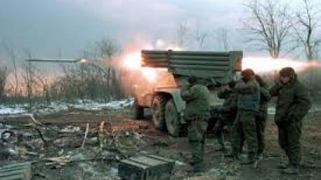 """Штаб: в районе Сартаны боевики из """"Градов"""" обстреляли позиции сил АТО"""