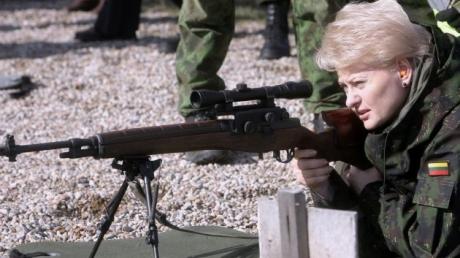 """""""На войну ответить войной"""": Грибаускайте призвала начинать борьбу с террористическими группировками"""