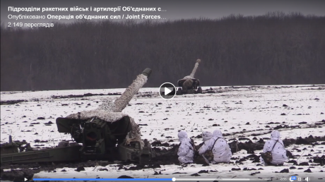 """Артиллеристы ООС """"расстреляли"""" врага на Донбассе в упор: кадры масштабных учений с новейшими РЛС от армии США"""