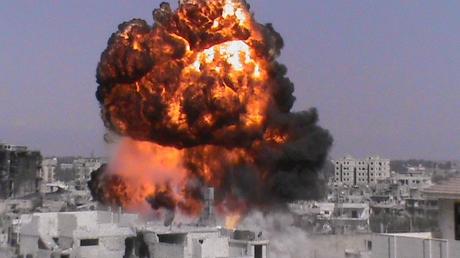 Кровавый теракт в Дамаске: от подрыва заминированной машины погибло восемь человек, четверо ранены
