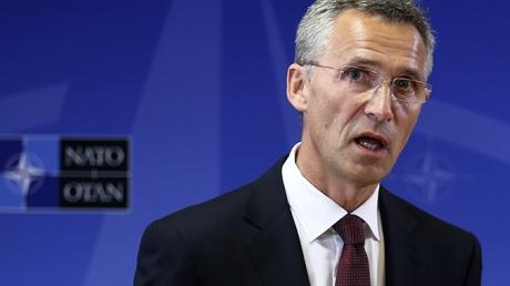 Столтенберг: Позиции России и НАТО относительно кризиса в Украине расходятся