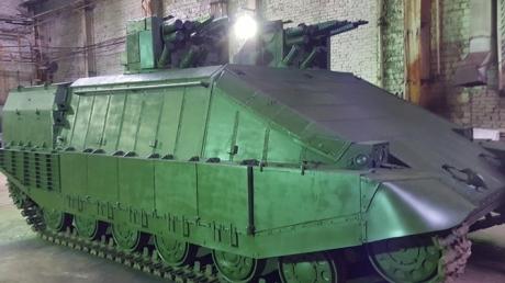 """Инженеры """"Азова"""" разработали танк, который превосходит всю стоящую на вооружении бронетехнику"""
