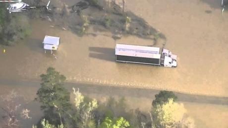 Сильнейшее наводнение в американском Хьюстоне: город объявлен зоной стихийного бедствия