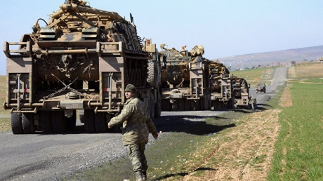 СМИ: Турция стягивает войска к сирийской границе и не исключает проведение полномасштабной военной операции