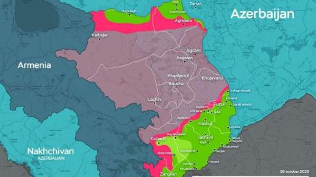 В Нагорном Карабахе критический момент: армия Азербайджана может попасть в окружение под Шуши