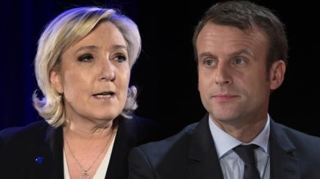 Франция, выборы, президент, Макрон, Ле Пен.
