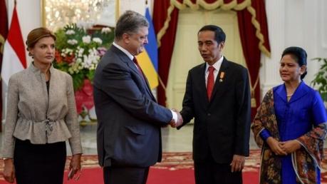 индонезия, украина, порошенко, сотрудничество, общество, торговля