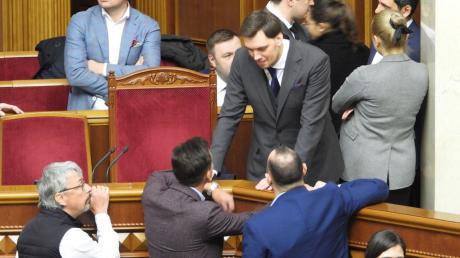 """""""Слуга народа"""" поддержит отставку Гончарука при одном условии"""