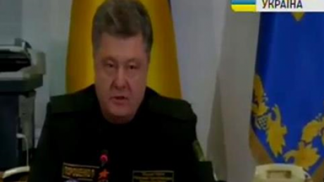 Порошенко: Мирный процесс под угрозой срыва из-за действий боевиков под Дебальцево