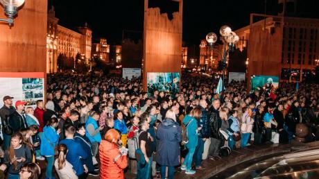 В Киеве протестующие выдвинули 6 требований Зеленскому