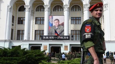 фашик донецкий, убийство захарченко, днр, донецк, сурков, украина, россия, донбасс, главарь днр