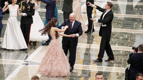 Беларусь, Лукашенко, Василевич, Спутница, Мисс Беларусь.