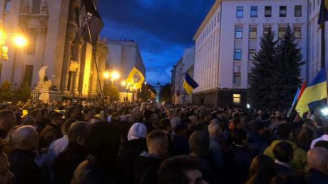 киев, зеленский, протест, украина, россия, война, агрессия, кабакаев