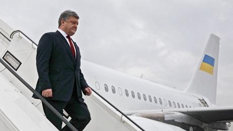 Петр Порошенко 17 июля совершит государственный визит в Грузию