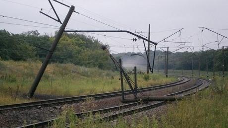 """Восстановление ж/д инфраструктуры Донбасса обойдется почти в миллиард гривен, - """"Укрзализныця"""""""