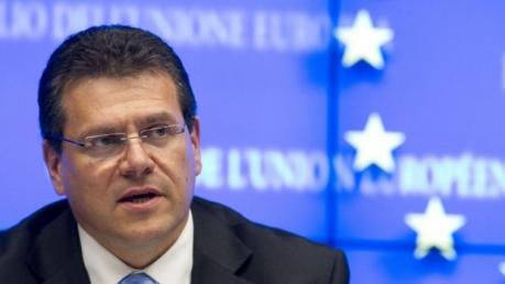 Брюссель, Шевчович, решение конфликта, газовый вопрос, поставки газа в ДНР и ЛНР