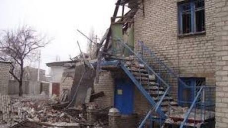 В Дебальцево снаряд попал в здание городского отдела милиции, - МВД