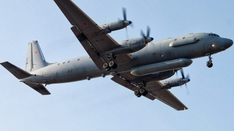 Война, Сирия, ПВО, Россия, Самолет, Ил-20, Сбит, Падение.