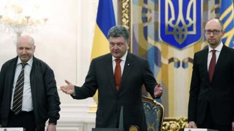 В ДНР обвинили Порошенко, Яценюка и Турчинова в развязывании войны на Украине
