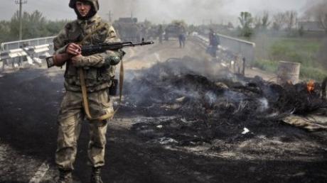 """Вражеская БМП, которая готовилась к штурму сил АТО, взлетела на воздух - двое боевиков """"ДНР"""" уничтожены, трое были ранены во время взрыва - ГУР"""