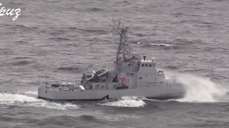 ВСУ провели учения PASSEX вместе с кораблем США
