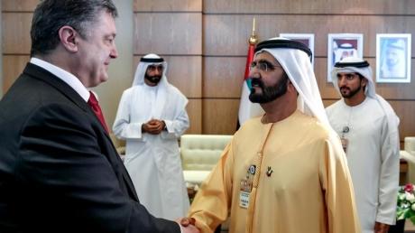 ОАЭ будут поставлять в Украину военную технику