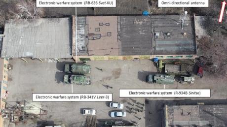"""Российские комплексы РБ-341В """"Леер-3"""", Р-934Б """"Синица"""" и РБ-636 """"Свет-КУ"""" засекли на Донбассе, кадры"""