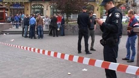 украина, киев, криминал, полиция, стрельба, видео, общество