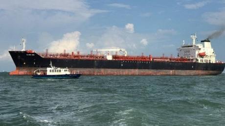 танкер, китай, нефть, столкновение, экология, катастрофа