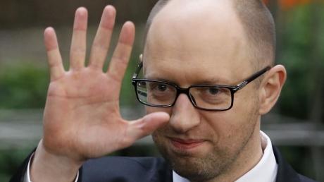 Яценюк назвал единственное условие ухода с поста