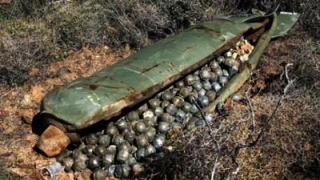 ОБСЕ обнаружило в Донбассе остатки кассетных бомб